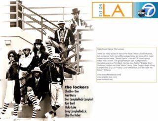 """The LockersがLAのABC TVに紹介された映像を紹介。【""""Toni Basil""""から直々にご連絡を頂いた投稿です】"""
